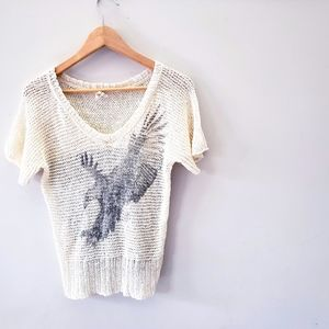 WE THE FREE | Soar Above knit tee